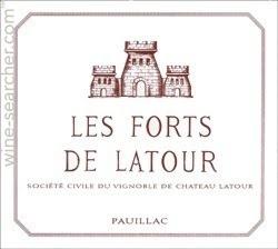 Chateau Latour's second wine - Les Forts de Latour 1982
