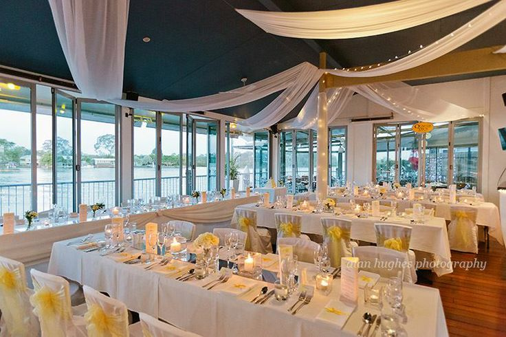 The River Deck Restaurant with the Noosa River as the backdrop - simply stunning http://www.itsmywedding.com.au/vendor-profile/the-river-deck-restaurant-and-bar/