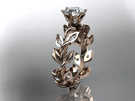 17 best ideas about Vine Wedding Ring on Pinterest Gold ring