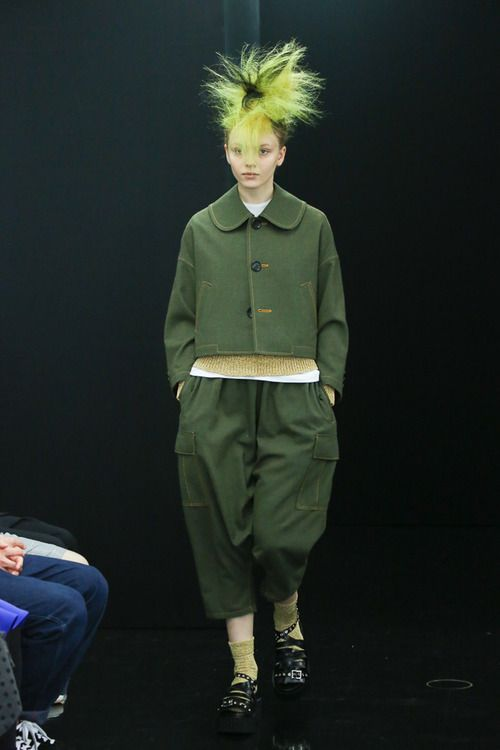 [No.13/73] tricot COMME des GARÇONS 2013~14秋冬コレクション   Fashionsnap.com