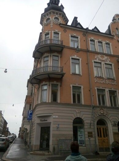 Another beautiful building in Helsinki