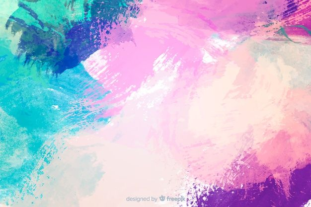 Download Abstract Colorful Watercolor Stain Background For Free