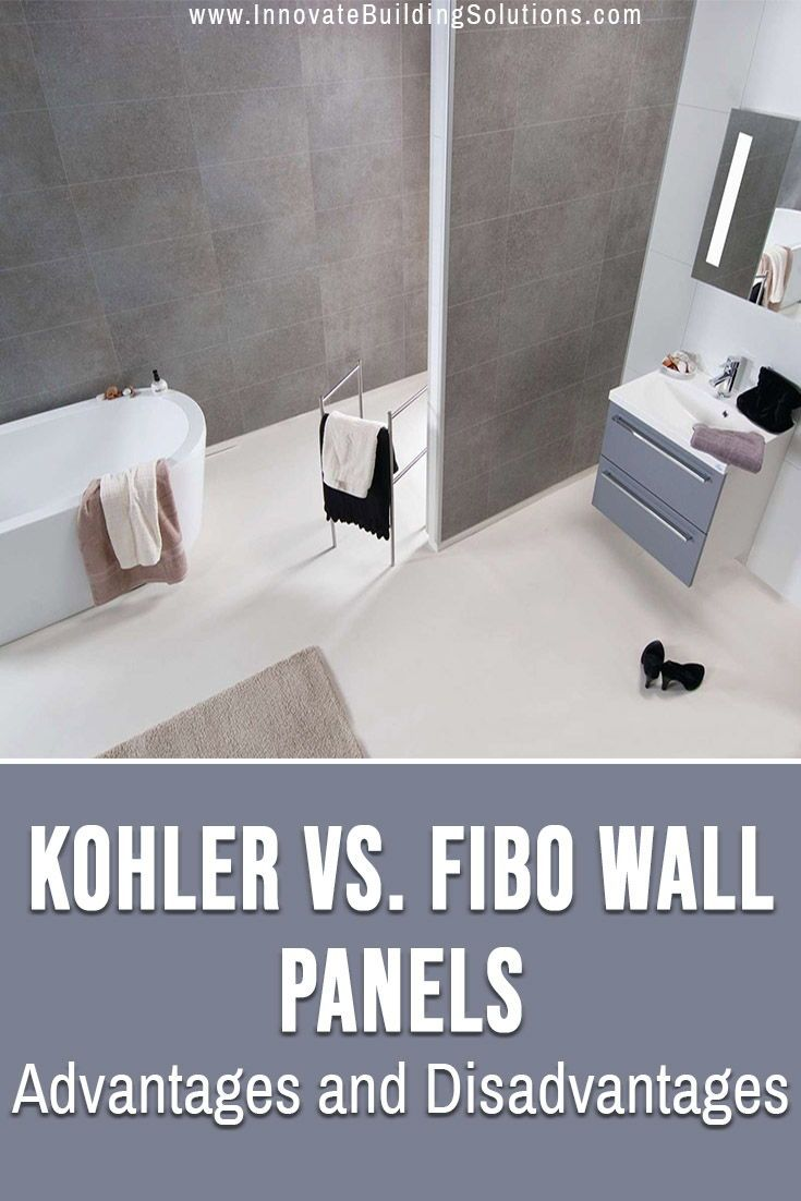 How To Compare Kohler Choreograph To Fibo Laminate Shower And Tub Wall Panels In 2020 Wall Panels Kohler Choreograph Walk In Shower