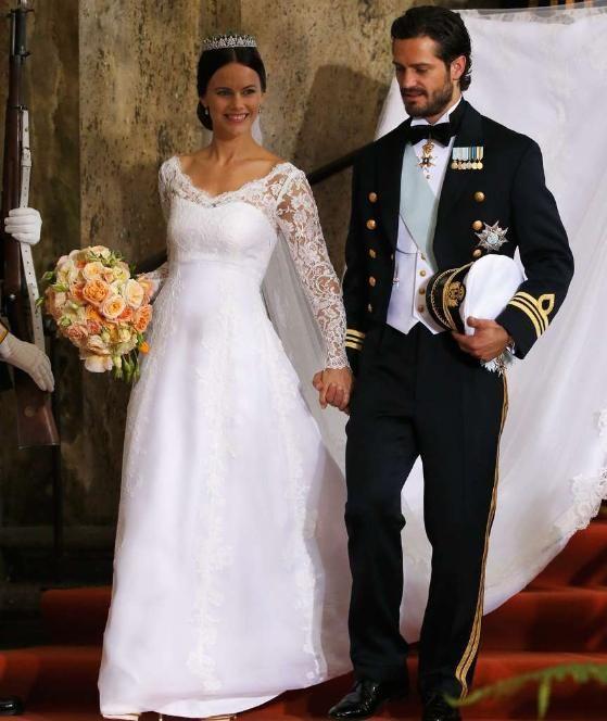 Hochzeit: Prinz Carl Philip von Schweden heiratet Sofia Hellqvist