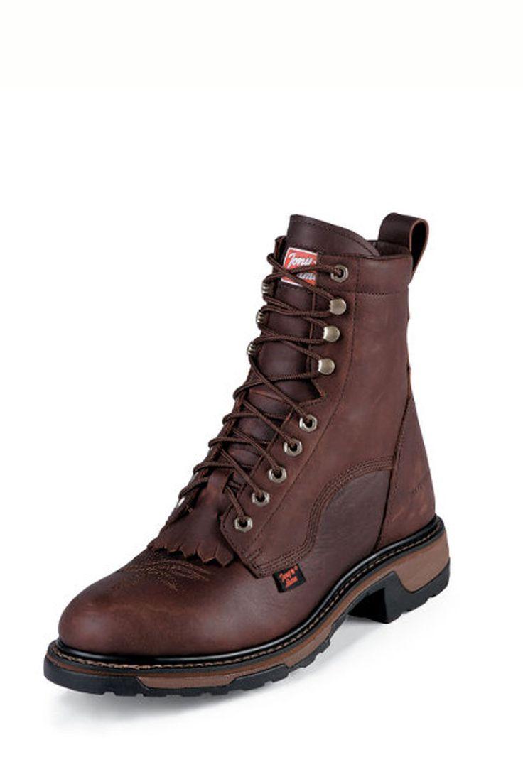 Tony Lama TLX Briar Pitstop Waterproof Work Boots - on sale!