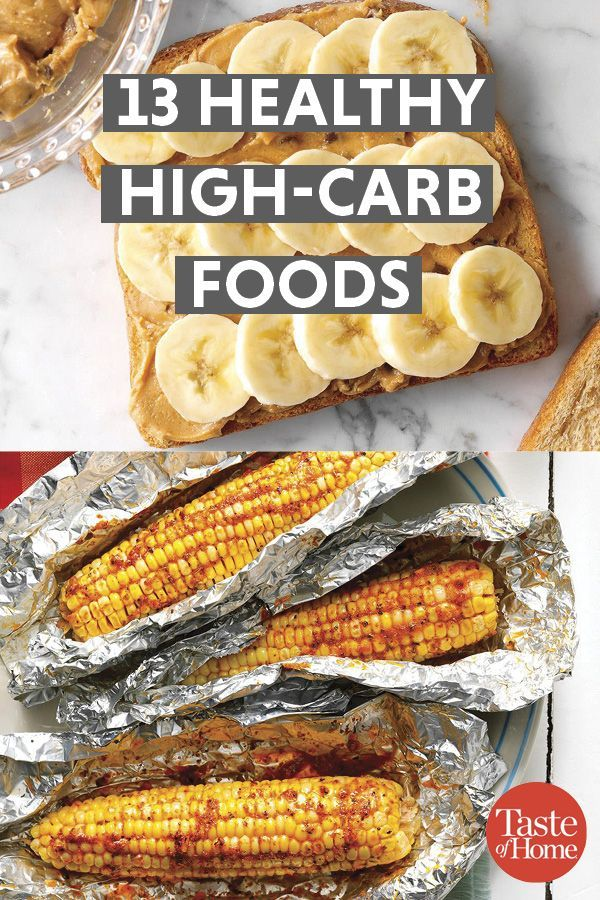 13 High Carb Foods That Are Really Healthy For You Healthy High