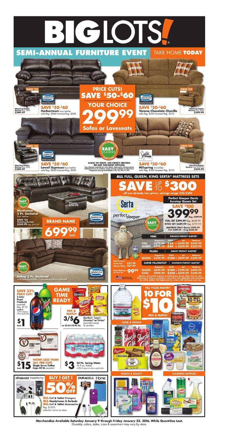 Big Lots Furniture February 5 - 20, 2016 - http://www.olcatalog.com/home-garden/big-lots-weekly-ad.html