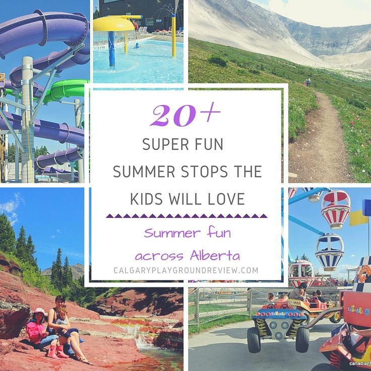 You don't have to go far to find fun things to do with the kids. We've spent a lot of time exploring Alberta to check out the family friendly attractions that are right in our own backyard. Here are some of our Alberta summer favourites as well as some that are still on our bucket...Read More »