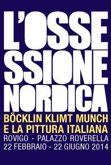 L'ossessione Nordica Böcklin Klimt Munch e la pittura italiana Dal 22 febbraio al 21 giugno 2014 Palazzo Roverella - Rovigo (RO)