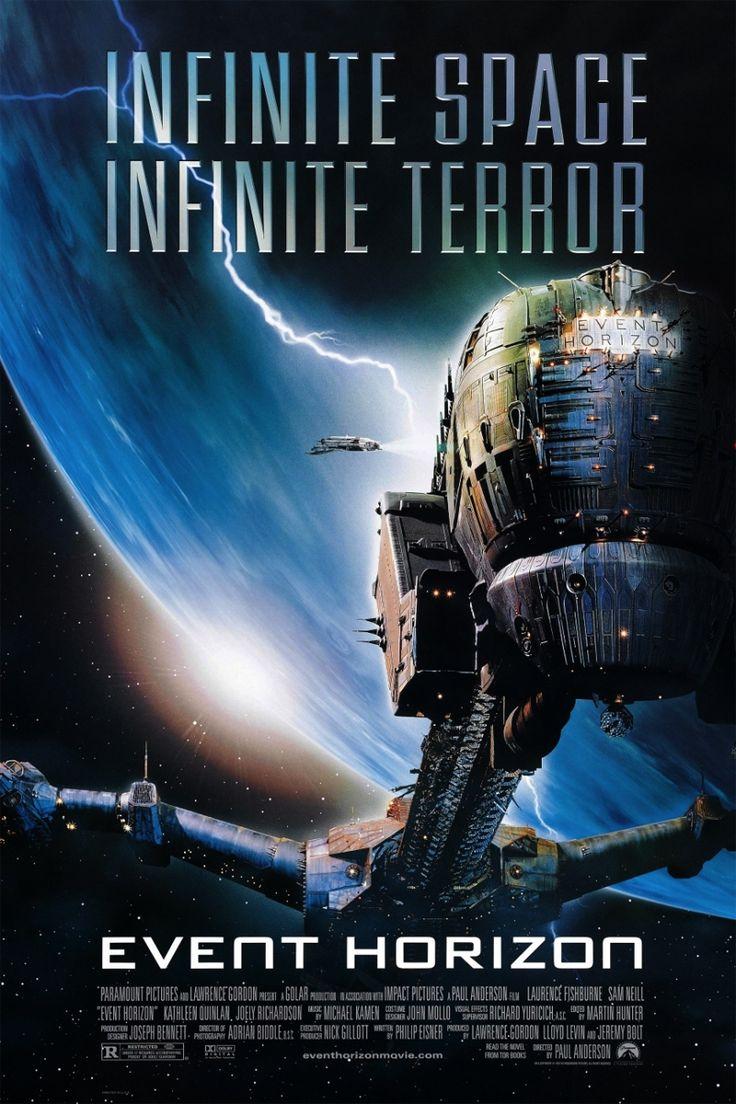 Event Horizon (1997) Lawrence Fishburne, Sam Neill, Kathleen Quinlan, Joely Richardson, Sean Pertwee. 27/7/08