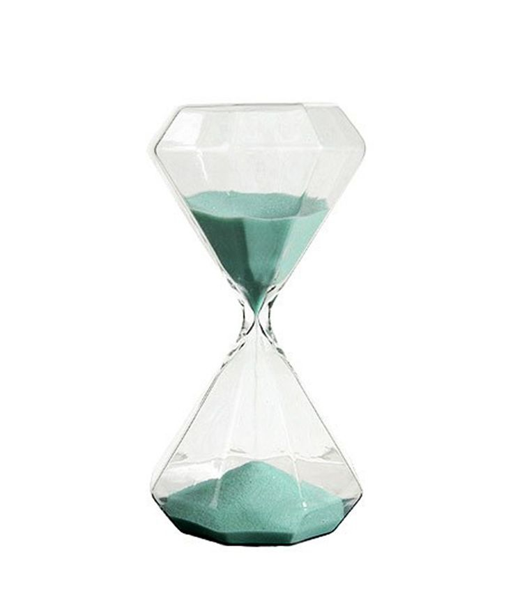 #MyDreamShelfSweeps I have an hourglass obsession. Diamond Hourglass with seafoam sand at dotandbo.com