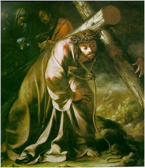 Cristo cargando la cruz  1660 Autor: Juan Valdés