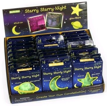 These small packs of GITD stars are a wonderful addition to any room to make bedtime a delight.
