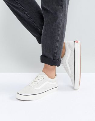aa6a66668e8 Замшевые кроссовки кремового цвета Vans Old Skool | Sneakers,Sandals ...