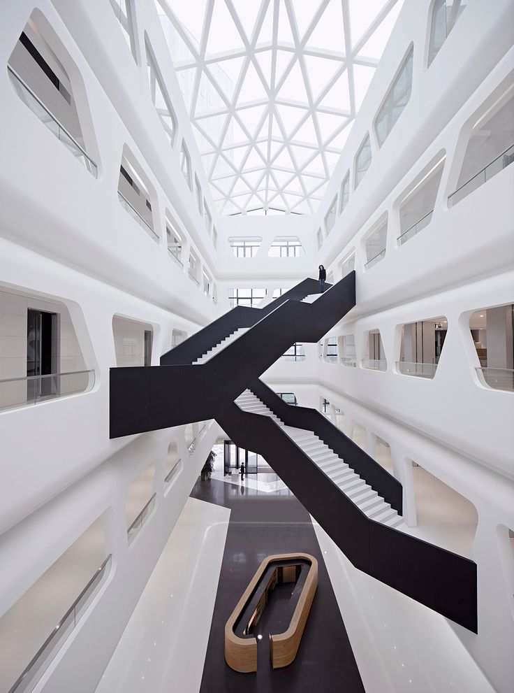"""HALLUCINATE creates a """"surreal ambience"""" in this sleek trading center 