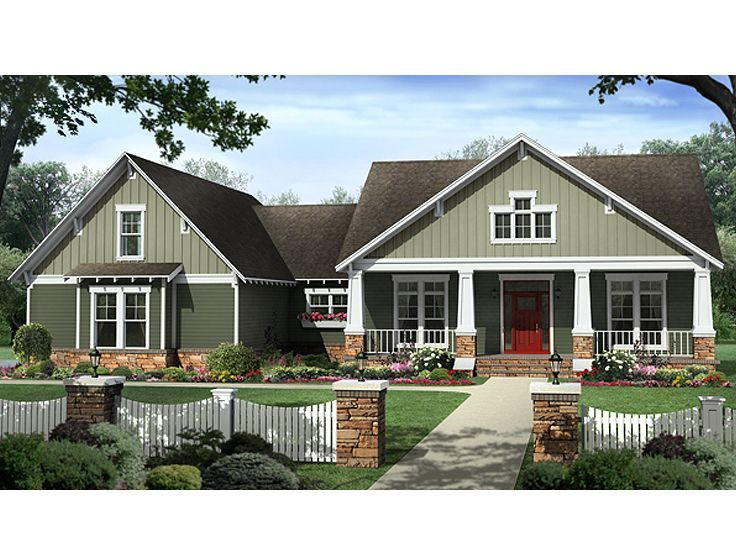 Cute Country Craftsman Love The Green Dreams For Our New Home P