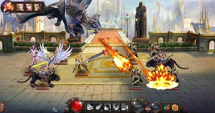 Стань повелителем армии огнедышащих драконов в новой ролевой игре «Dragon Knight» и покори огромный мир, охваченный пожаром ...