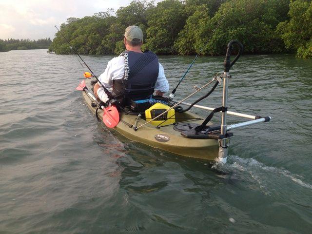 Best 25 motorized kayak ideas on pinterest mokai kayak for Fishing kayak with trolling motor