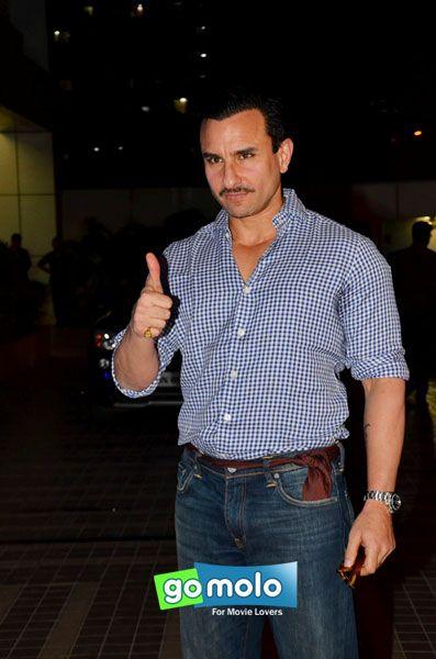 Saif Ali Khan at Sajid Khan's birthday party in Mumbai