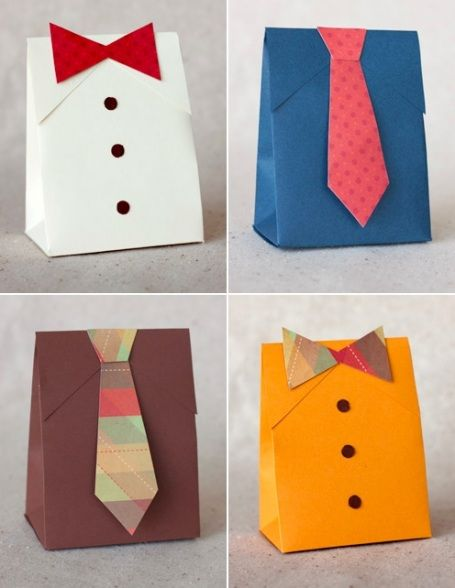 Father's day gift wrapping ideas... def using this idea fr ea kid!