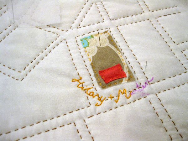 """Sew your own 42"""" x 36"""" map of Beantown. These quilt projects make great keepsakes or wall-hangings... large enough to use as a crib quilt. Personalize your map with embroidered details that are most s"""