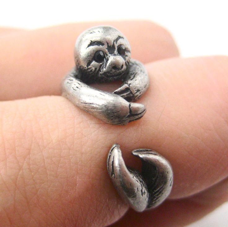 sloth ring, shut up!!! @Sharayah P. P. mckenzie, Sara, suzie, and keilani
