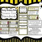 Buzzz....Here is a simple way to display the new Common Core Standards. This is an ADORABLE Bee themed Classroom Posters that includes all of the K...