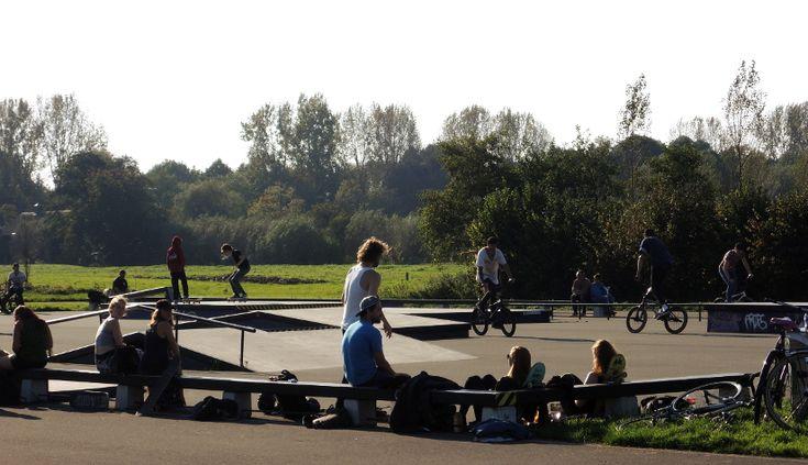 Een bruisend Skatepark Ruigenhoek in Overvecht – Olivier Beens