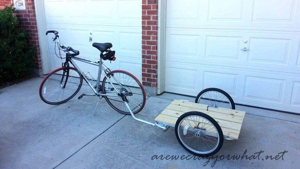 Building a Bike Trailer on the Cheap!
