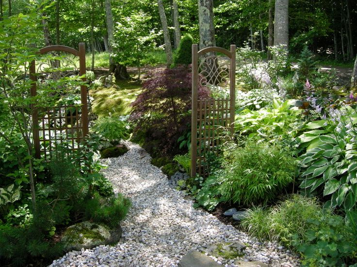 Landscaping Ideas For Shady Side Of House : Paths side garden shade plants house gardens gates the