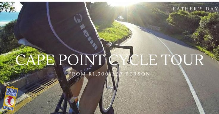 Cape Point Cycle Tour: This is a chance to experience the highlights of the famous annual Cape Town Cycle  Tour with your dad as you cycle the False Bay Coastline, ride in Cape Point Nature Reserve and over Chapman's Peak Drive.  It's a fun and active day out with dad this Father's Day and the cycle tour includes a Gourmet Picnic Lunch and Wine Tasting at Cape Point Vineyards!