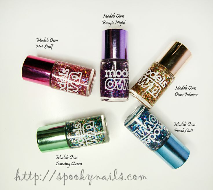Lakierowi ulubieńcy 2013 / My favourite nail polishes 2013 - models own mirrorball