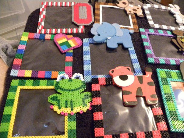 Photo frames perler beads by Darlena W. - Perler® | Gallery