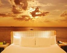 Fotobehang ~ Tropical-Sunset