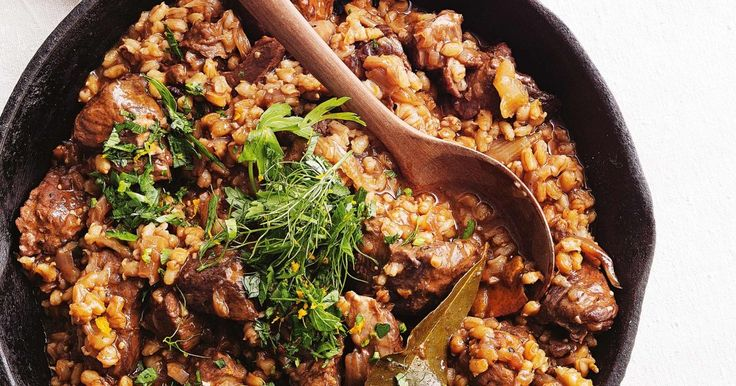 Try this slow-cooked lamb casserole that incorporates pearl barley, fennel and red wine.