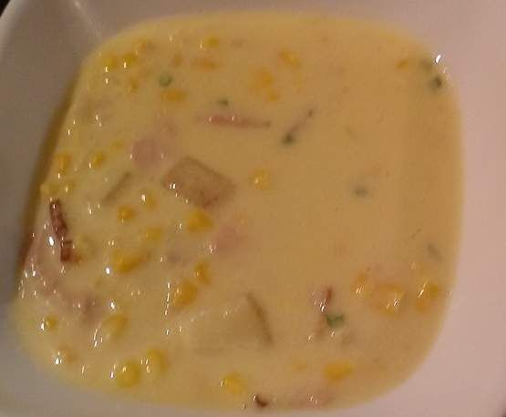 Recipe Corn and bacon chowder by Mixing Adventures - Recipe of category Soups