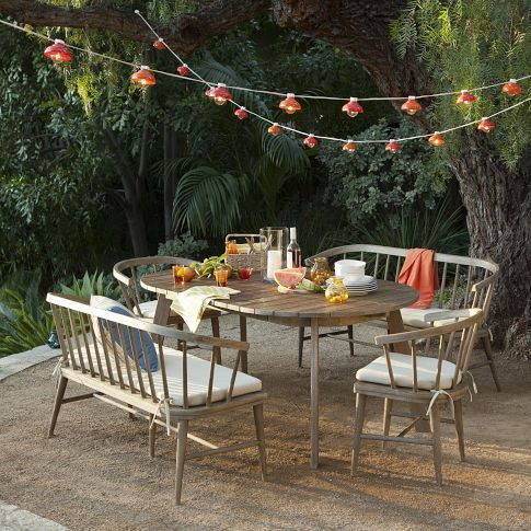 back yard furniture ideas from West Elm