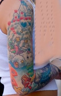 Planet Care Bears Home - Does anyone watch LA Ink? This is Care Bear related...lol