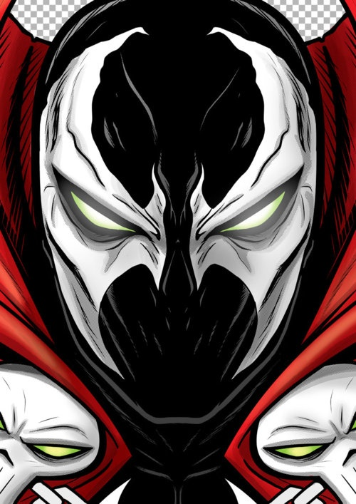 Spawn Portrait by Terry Huddleston