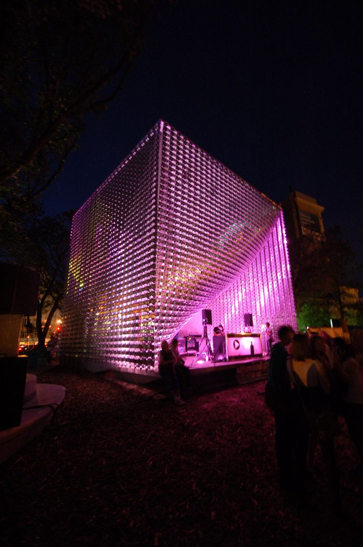 The Cube (Winnipeg Old Market Square Stage) (Project 0134 | Stage). • Address:131-133 Letinsky Place, Exchange District • Use:Performance Stage and Pavilion • Constructed:2010 • Architects:5468796 Architecture