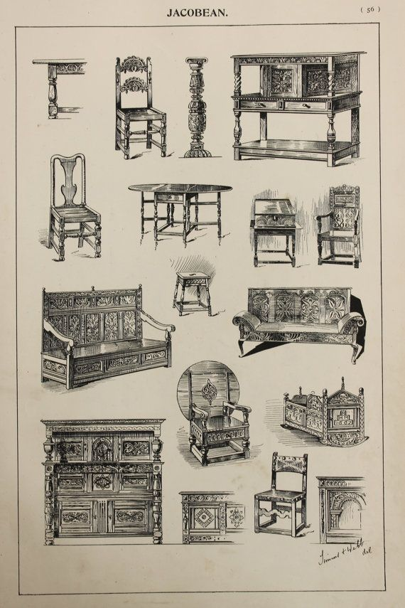 Hey, I found this really awesome Etsy listing at https://www.etsy.com/listing/237860123/english-jacobean-furniture-designs-large