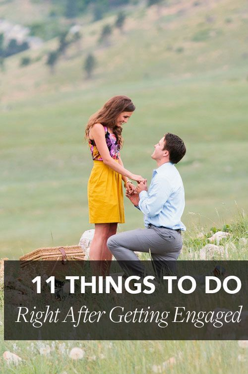 Just got #engaged? Congrats! Now, read this | Brides.com