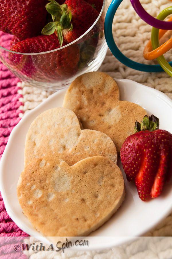 No sugar banana pancake for toddlers.