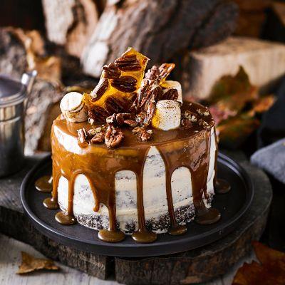 Martha Collison S Bonfire Cake Bonfire Party Ideas