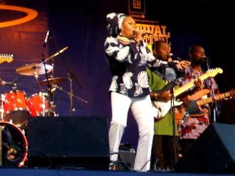 Lorraine Klaasen - Montreal Jazz Fest June 28th, 2007