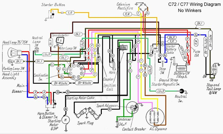 Honda Ex5 Wiring Diagram Download And Xrm