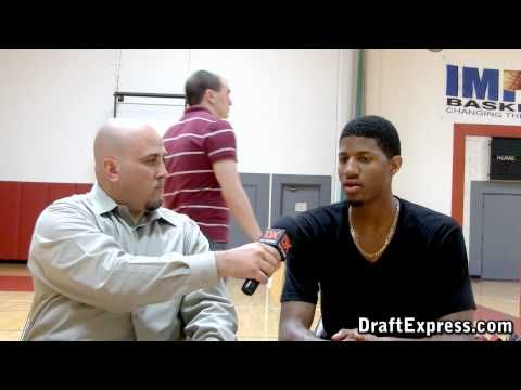 DraftExpress Exclusive: Paul George Pre-Draft Interview & Workout Footage - YouTube