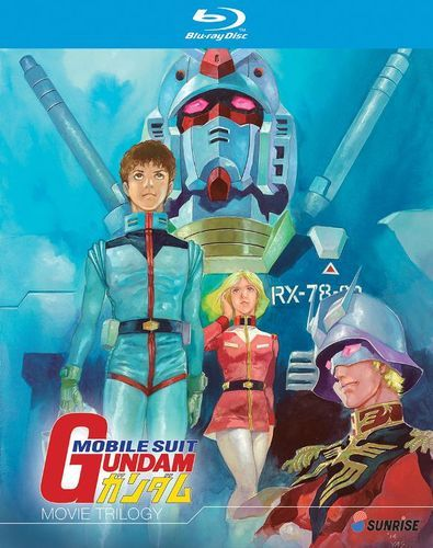 Mobile Suit Gundam: Movie Trilogy [Blu-ray] [3 Discs]