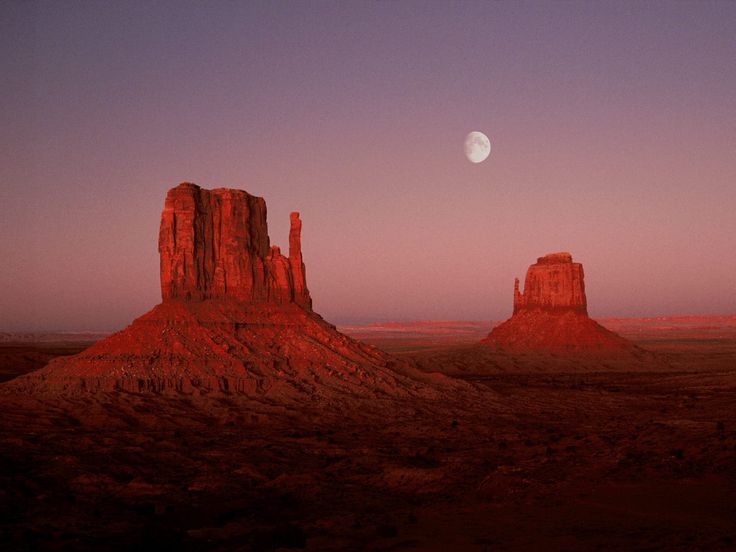 Monument Valley on the border of Arizona and Utah