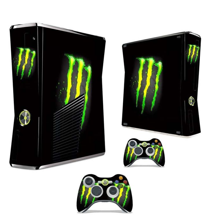 Decal Sticker For Xbox 360 Slim It Is Cool For Video
